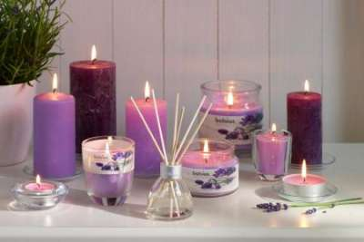 Подарки для любимых: ароматические свечи и саше